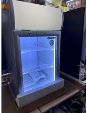 Zweite Wahl Theken-Displaykühlschrank - silber - GCDC50